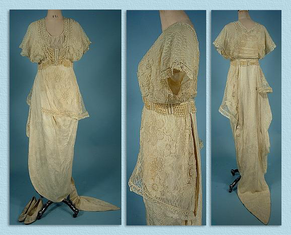 wedding dress of martha mears yocum